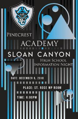 Pinecrest Academy Sloan Canyon Information Meeting